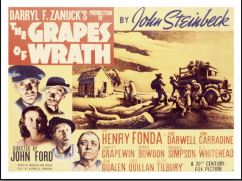 John Steinbeck's 'The Grapes of Wrath', Directed by John Ford