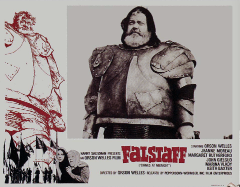 William Shakespeare, 'Falstaff', Directed by Orson Welles