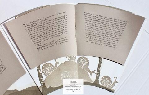The Snails, Foolscap Press, Sample Text #2