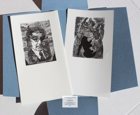 The Splendour of a Morning, Barbarian Press, Extra Set of Prints (Deluxe)