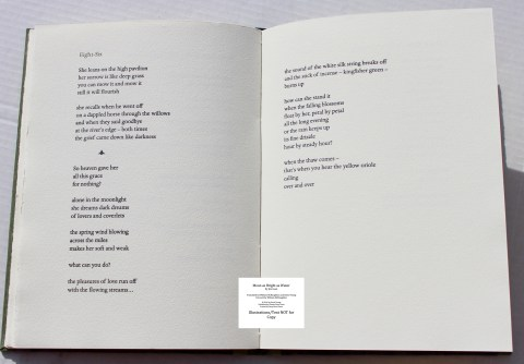 Moon as Bright as Water, Chester River Press, Sample Text #6
