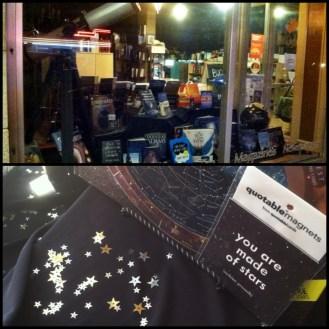 Star Window Display   Wind City Books, Casper, WY