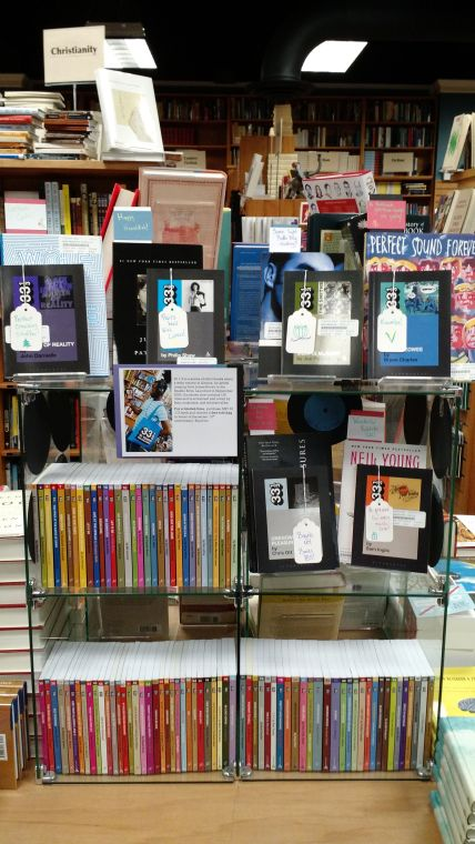 33 1/3 Display | The Book Table, Oak Park, IL