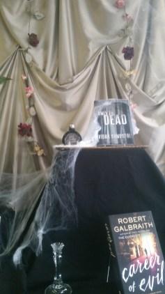 Halloween Display | Dragonfly Books, Decorah, IA