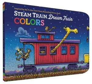 Steam Train Dream Train Colors 9781452149158_6720d