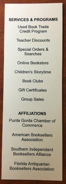 Copperfish Books | Punta Gorda, FL