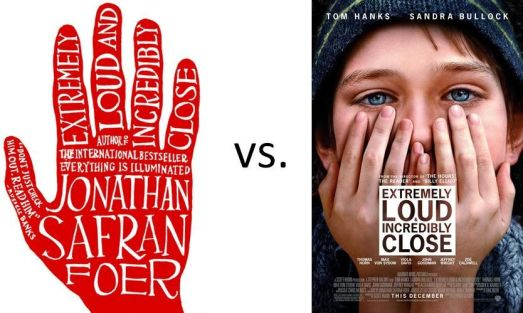 book vs film extremely loud and incredibly close