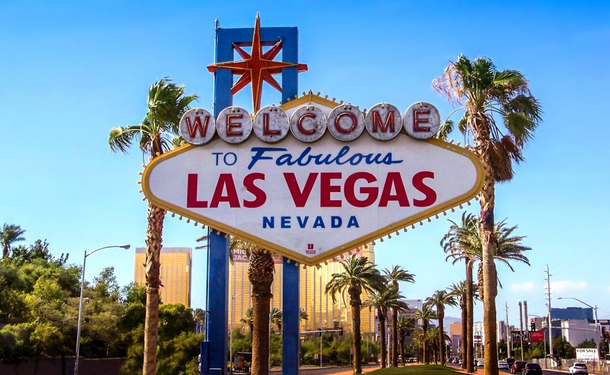 Books about Nevada - the image is of the famous Welcome to Las Vegas sign