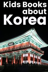 Books about Korea for Kids