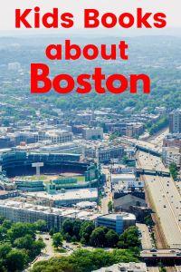 Boston Children's books - children's books about Boston - Boston picture books - Massachusetts picture books