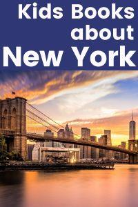 New York books - books set in New York - books in New York - children's books about New York - children's books set in New York