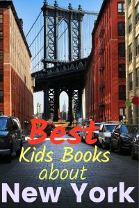 New York books for kids - New York picture books - New york kids books - kids books about New York