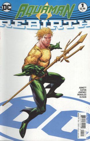 Aquaman REBIRTH #1B