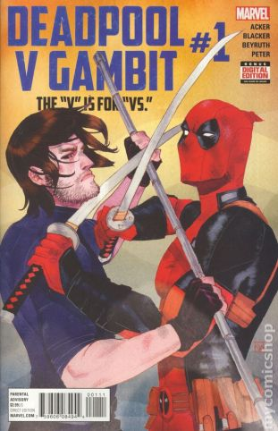 Deadpool Vs. Gambit #1A