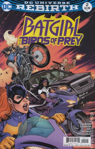 Batgirl & The Birds of Prey #2A