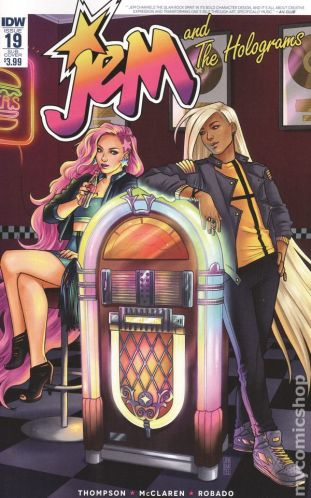 Jem and the Holograms #19B