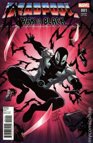 Deadpool Black #1B