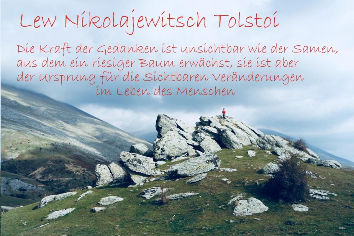 Gedanken Tolstoi