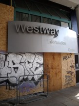 Westway Information Centre closed