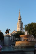Trafalgar Square and St Martin in the Fields
