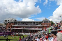 Lord's Pavilion and archery stands