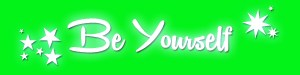 Be Yourself banner