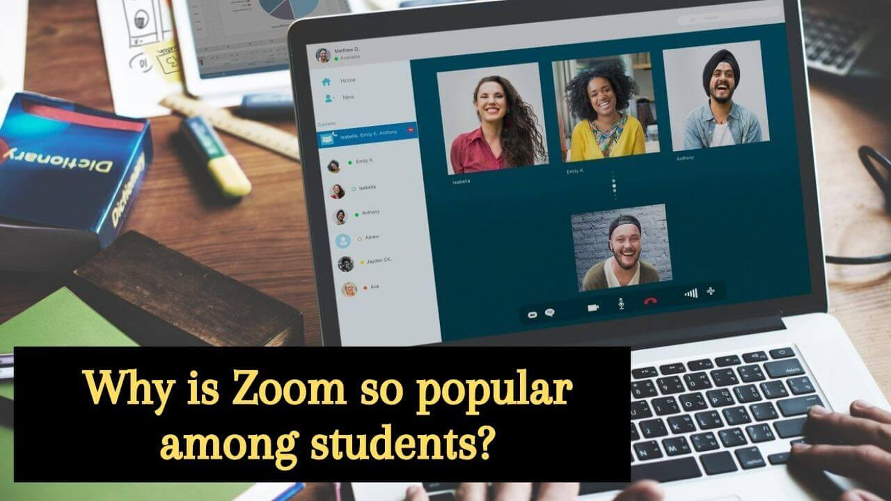 Zoom's popularity among the students