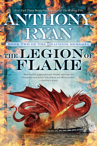 Review of The Legion of Flame by Anthony Ryan