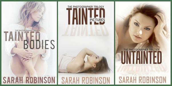 All 3 books Trilogy Transparent Back