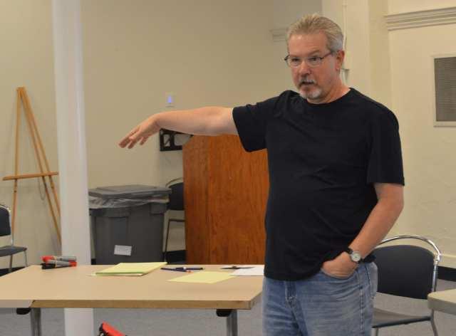 Local writer Jeffrey Hillard will moderate a panel about creative fiction writing.