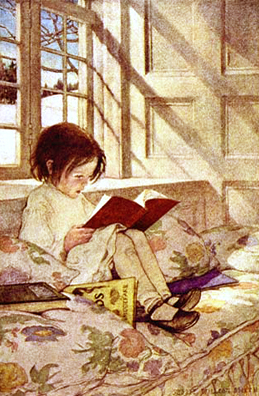 Child Reading Window WilcoxSmith 259