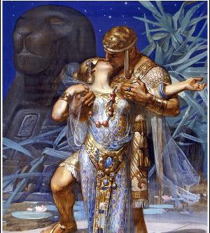 True love, Antony & Cleopatra. Not.