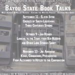 Bayou State Book Talks