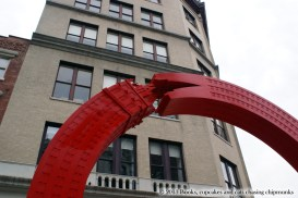 Alexandre Arrechea Sculptures - NYC | Books, Cupcakes, and Cats Chasing Chipmunks