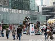 La Défense, France | Books, Cupcakes, and Cats Chasing Chipmunks