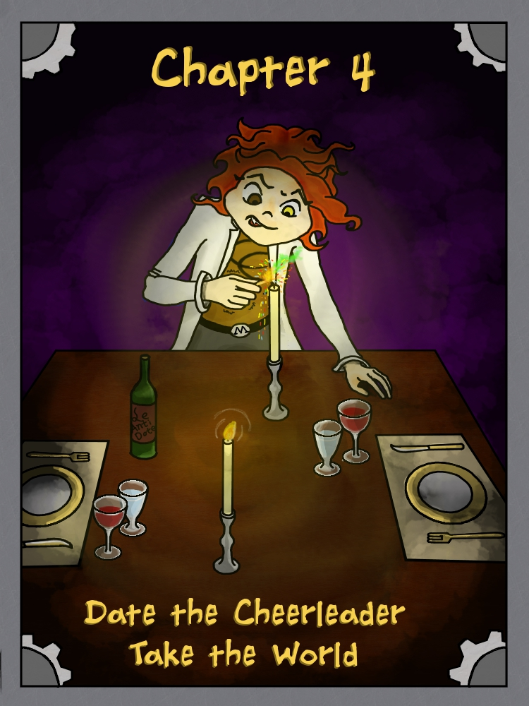 Page 121: Date the cheerleader take the world