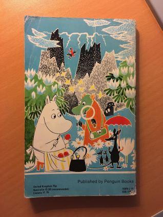 Finn Family Moomintroll back cover