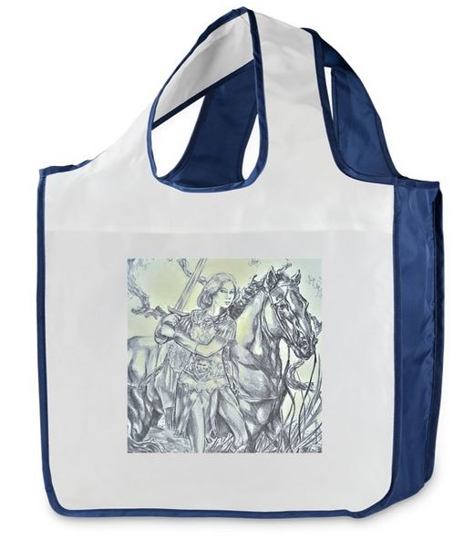 Brave Wren shopping book bag