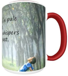 Summers Past red mug