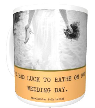Appalachia Wedding Luck mug mid