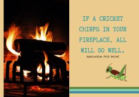 Cricket Chirps note card