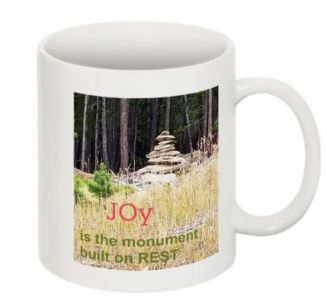Monument to Joy mug front
