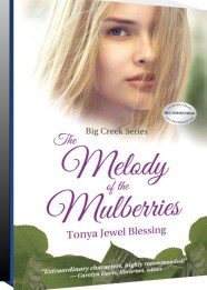 Melody of the Mulberries Book cover perspective