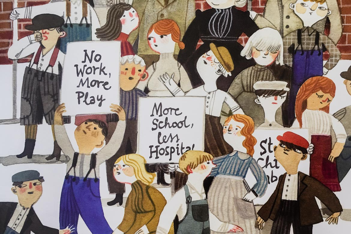 Justice For Labor Day: Provocative Kids Books About The