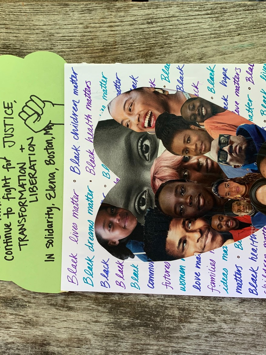 #LoveLetters4BlackLives