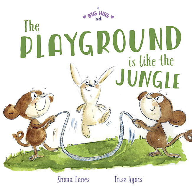 Book Cover Image for The Playground is Like the Jungle