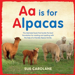 Book Cover Image for Aa is for Alpaca – on sale! Was $16.99
