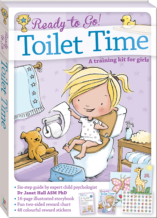 Book Cover Image for Ready to Go! Toilet Time : a training kit for girls