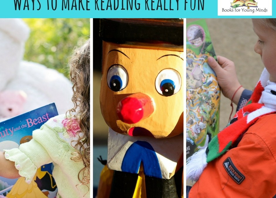 Ways to make reading really fun