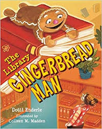 Book Cover Image for The Library Gingerbread Man